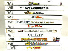 Wii Lot of 10 Games