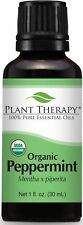 Plant Therapy USDA Certified Organic Peppermint Essential Oil. 100% Pure