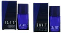 2 x Gravity by Coty, 1 oz Cologne Spray for Men 2 oz total