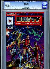 Unity #0 RED  CGC 9.8 NM/MT1992 Valiant Comics Amricons
