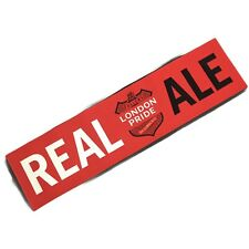 New Fullers LONDON PRIDE beer runner large 9inch by 33 inches mancave REAL ALE