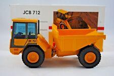 Original 1:35 JOAL JCB Famous 712 ARTICULATED Tractor DUMPER  Mint in JCB Box
