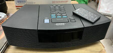 New listing Bose Wave Radio Am/Fm Cd Player Model Awrc-1G Black w Remote Control, Awrc1G