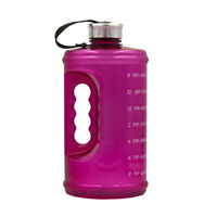 Water Bottle BPA-Free Large Capacity Bottle Motivational Fitness Workout