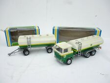 NACORAL 1/50 SCANIA LBS 140  TANK  TRUCK SET  BP IN BOX  GOOD CONDITION