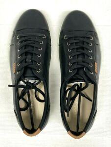 ECCO Men's Soft 7 Fashion Sneaker, Black, 42 M Size US 8-8.5