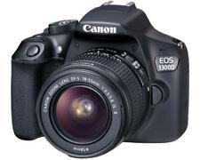 Canon EOS 1300D 18.0MP Digitalkamera - Schwarz (Kit mit EF-S IS II 18-55mm Objektiv)