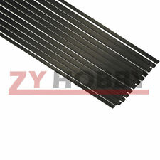10pcs 1*3*500mm Carbon Fiber Strip Flat Bar for Sand-Table RC Airplane USA Stock