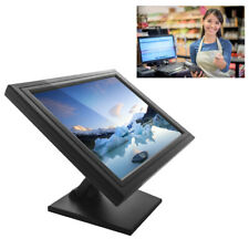 """17"""" Touch Screen LCD Monitor 1280 x 1024 Resolution VGA USB With US Plug For PC"""