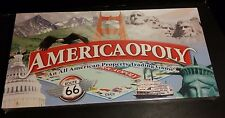 AMERICAOPOLY Board Game by 2-6 playersboys girls Ages 8+ NEW SEALED