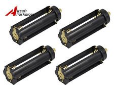 4Pcs Plastical Battery Holder Case 3 AAA To 18650 Cylindrical Battery Converter