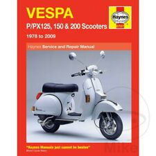 Vespa PX 200 E GS Grand Sport 1988-1995 Haynes Service Repair Manual 0707