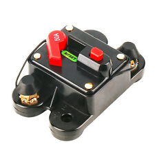 Stacca batteria fusibile elettronico auto barca moto camper solare 50A
