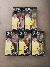 Michael Jackson Superstar Of 80s Dolls Set. 5 X dolls. King of Pop. Vintage.