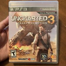 PS3 Uncharted 3 Drake's Deception Game PlayStation 3 Games