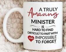 Minister Mug For Pastor Gifts For Minister Coffee Mug Thanks Leaving Retirement