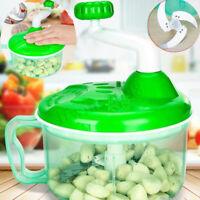 Manuel Cuisine Coupe-légumes Hachoir à Viande Salade Spiral Râpe Multifonction