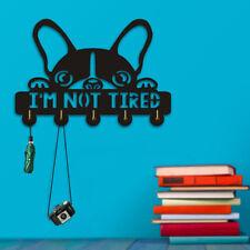 Boston Terrier Household Coat Hook Hanger I am Not Tired Holder Dog Lover Gift