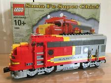 Lego Eisenbahn, Santa Fe Super Chief, Modell 10020, gebaut, unbespielt