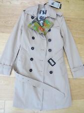 Burberry Heritage Trench Coat Honey Ladies Size UK 06 -- STUNNING!!