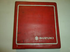 2000 2001 Suzuki GSX1300R Service Repair Manual BINDER 3 VOLUME SET STAINED OEM