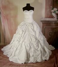 Wedding Dress Bridal  sz 14 Gown #62 In Stock NEW