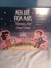 SALE Men are From Mars Women are from Venus Adult Party Game - NEW Sealed in Box