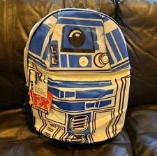 "Star Wars R2-D2 Backpack School Book Bag 15""  NEW"