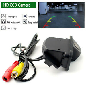 HD CCD Auto Reversing Backup Rear View Tracks Parking Camera For Toyota Corolla