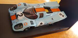 Autoart 1:18 Porsche 917K 1970 Daytona Winner Gulf Racing #2 1/18 - Rare