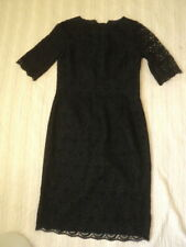 sportscraft black chantilly lace cocktail dress LBD NWT $299 10