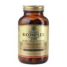 """Solgar Formula Vitamin B Complex """"100"""" 100 Vegi Capsules"""