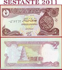 IRAQ  IRAK -  1/2 DINAR 1993 SADDAM - Light brown underprint - P 78b - FDS / UNC