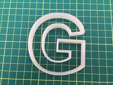 Alphabet Letter G cookie cutter