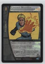 2004 VS System Marvel Origins #MOR-220 Unstable Molecules Gaming Card k0m