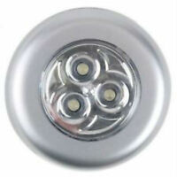 New 0 3 LED Touch push on/off Light self-stick on click battery operated lights