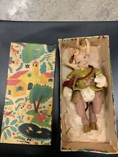 Rare Early Lenci pan In Original Box