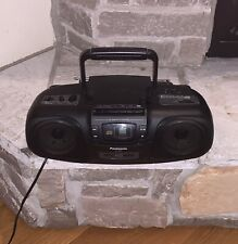 Working Panasonic Boombox RX-DS7 Cassette CD Player AM/FM Radio Stereo