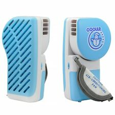 Mini Portable USB Desktop Desk Air Conditioner Cooler Cooling Fan Blue