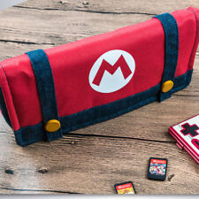 Super Mario Storage Bag For Nintendo Switch Console Travel Carry Protector Case