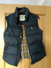 Ladies Jack Wills blue Puffer Bodywarmer Gilet UK Size 10 pockets no hood