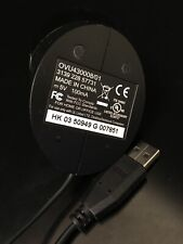 GENUINE DELL XPS GENUINE OEM REMOTE USB MCE INFRARED RECEIVER OVU430008/01 USA