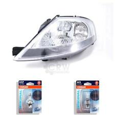 Halogen Headlight Left Citroen C3 (for /H) Year 02/02- H7/H1 with Motor