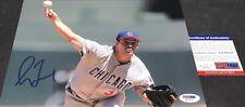 Greg Maddux Chicago Cubs Autographed Signed 8x10 PSA DNA COA