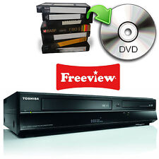 Toshiba DVR20 VCR VHS to DVD Recorder Freeview HDMI 1080p 3 Months Warranty