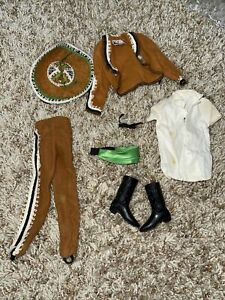 Vintage Barbie Ken Mexican Outfit Fun in Mexico 778 Travel Costume Sombrero Doll