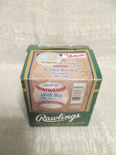 Rare Rawlings American Pastime Collection Bobby Brown AL Baseball Factory Sealed