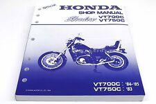 New Genuine Honda Shop Service Repair Manual 83-85 VT700 VT750 Shadow OEM #R88