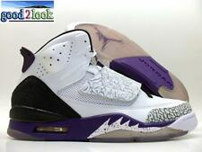 NIKE JORDAN SON OF MARS WHITE/PURPLE-COOL GREY SIZE MEN'S 10.5 [512245-106]