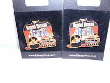 Disney GOOFY & DONALD in Doombuggy *HM Coffin Slider* Retired Attraction Pin